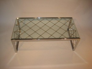 Mirror Polished Stainless Steel Table