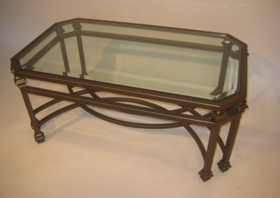 Double Leg Coffee Table Steel