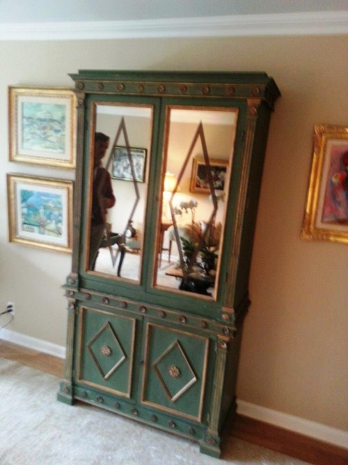 European Neo-Classical Cabinet Base Restoration