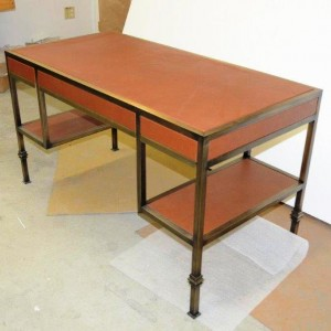 Bronze Desk