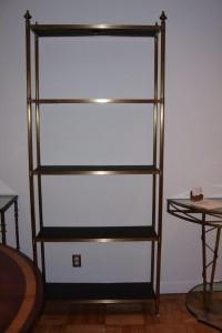 Brass, Bronze Bookcase Étagère