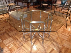Stainless Steel Jansen Dining Table